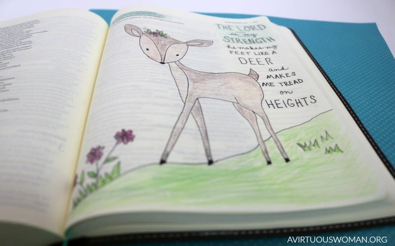 Bible Journaling Habakkuk