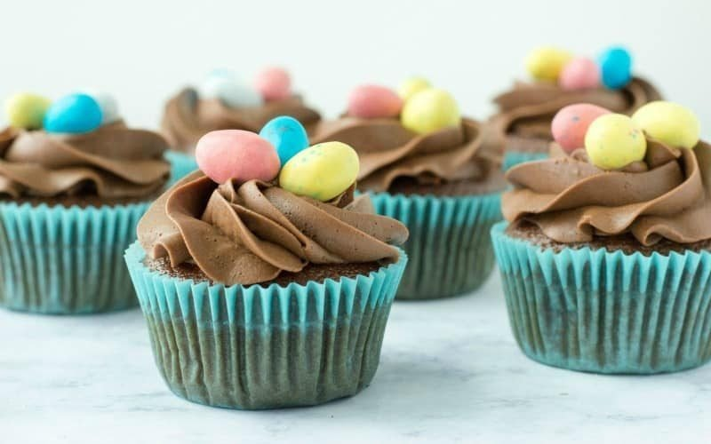 Birds Nest Cupcakes for Spring @ AVirtuousWoman.org