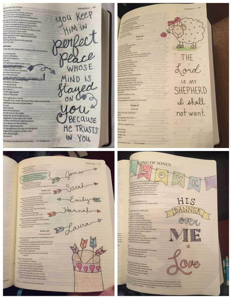 Bible Journaling @ AVirtuousWoman.org