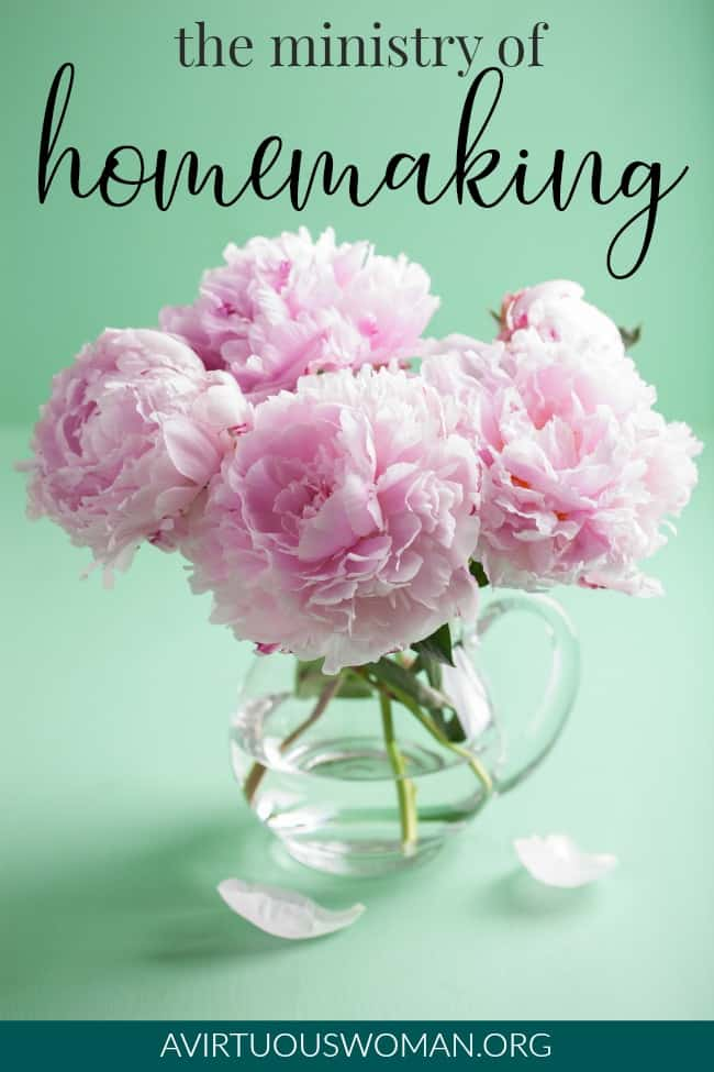 30 Days of Intentional Homemaking series!!! The Ministry of Homemaking @ AVirtuousWoman.org