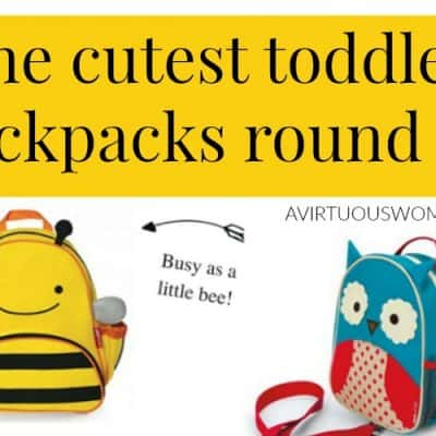The Cutest Toddler Backpacks from Skip Hop Zoo