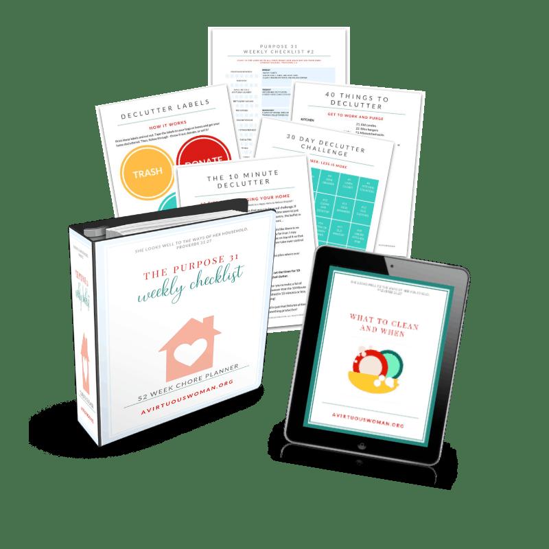 The Purpose 31 Homemaking Bundle