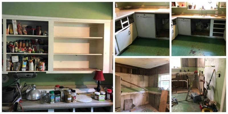 Kitchen Renovation @ AVirtuousWoman.org