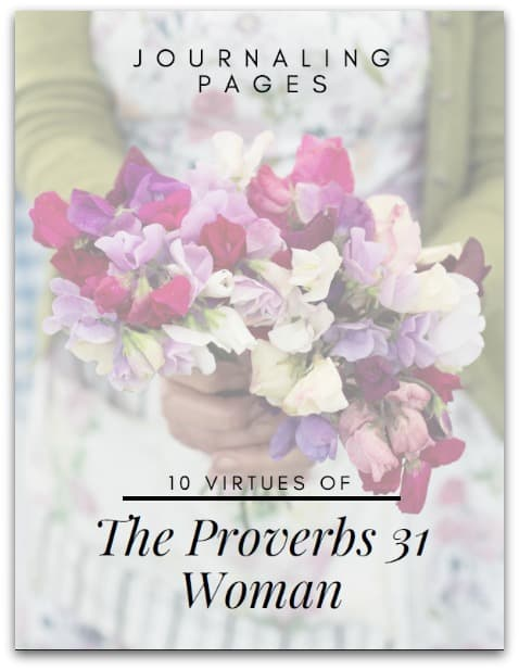 10 Virtues Journal Pages @ AVirtuouswoman.org