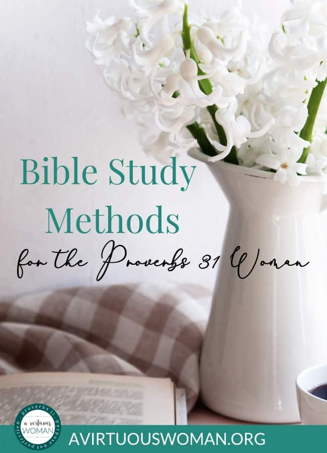 There are a number of different Bible study methods that can help you learn more about the Bible, what you believe, and help you have a closer walk with Jesus.