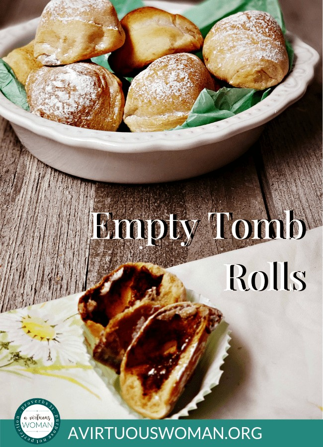 How to Make Empty Tomb Rolls @ AVirtuousWoman.org