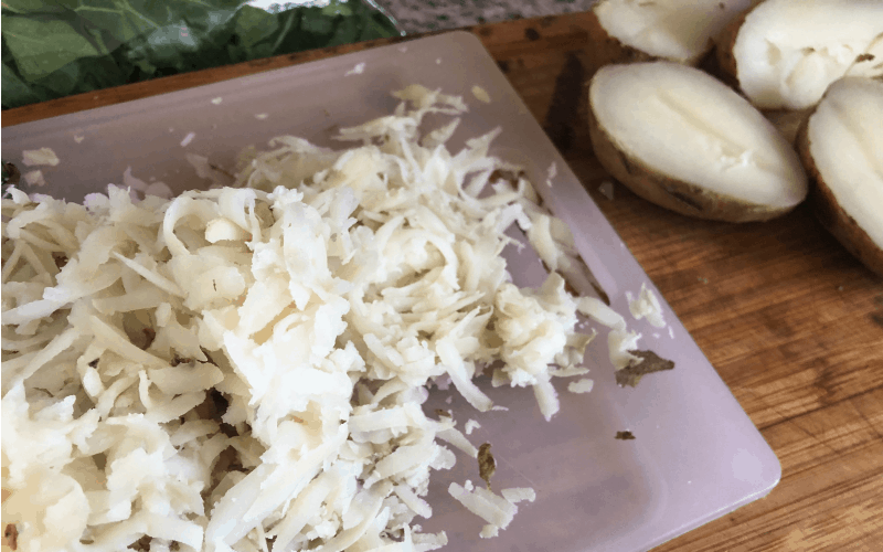 Homemade Frozen Hash Browns