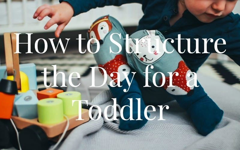How to Structure the Day for a Toddler @ AVirtuousWoman.org