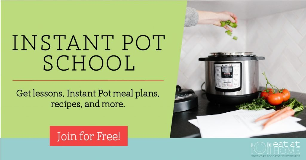 Instant Pot School @ Eat at Home