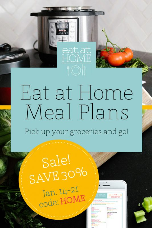 Eat at Home January Sale