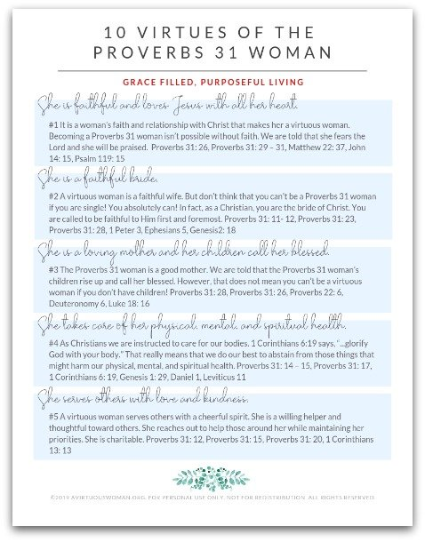 Proverbs 31 Bible Study Guide @ AVirtuousWoman.org