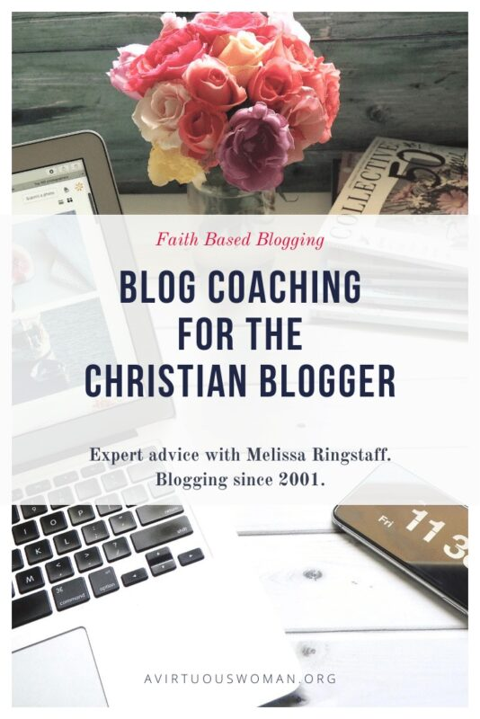 Blog Coaching for Christian Bloggers: expert blogging advice from a veteran blogger with 20 years experience.