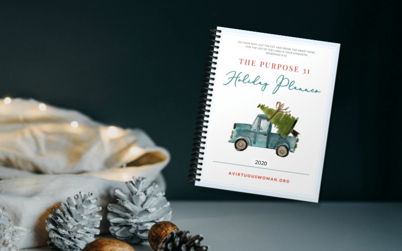 2020 Free Printable Holiday Planner | Christmas Planner