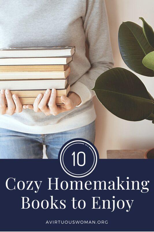 Cozy Homemaking Books @ AVirtuousWoman.org