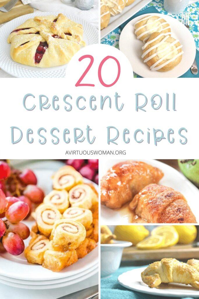 Crescent Rolls Dessert Recipes @ AVirtuousWoman.org