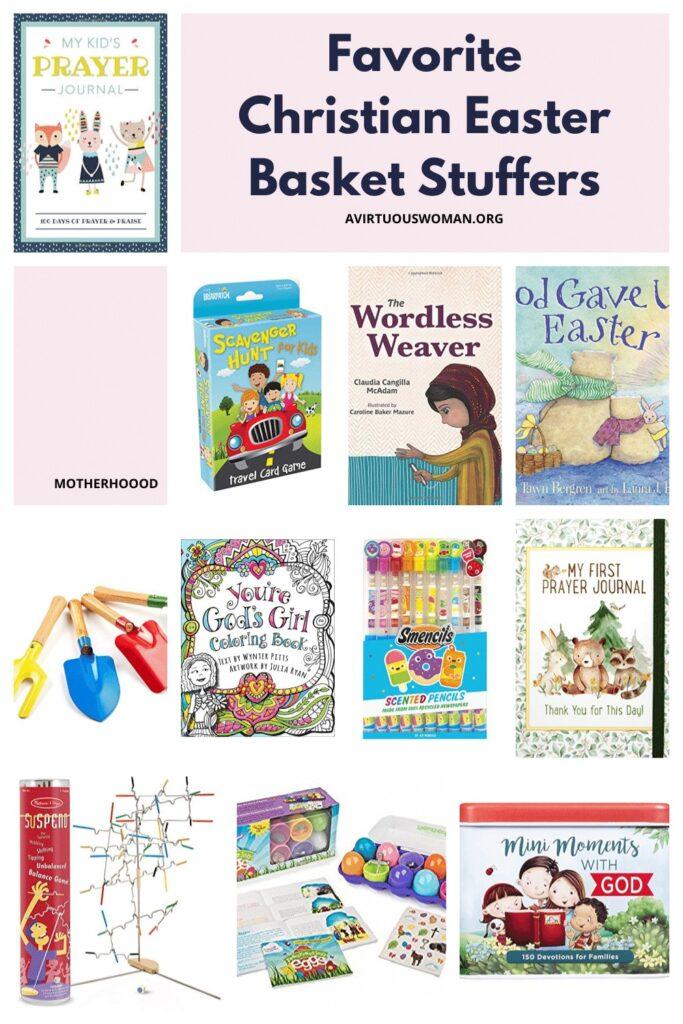 Christian Easter Basket Stuffers @ AVirtuousWoman.org