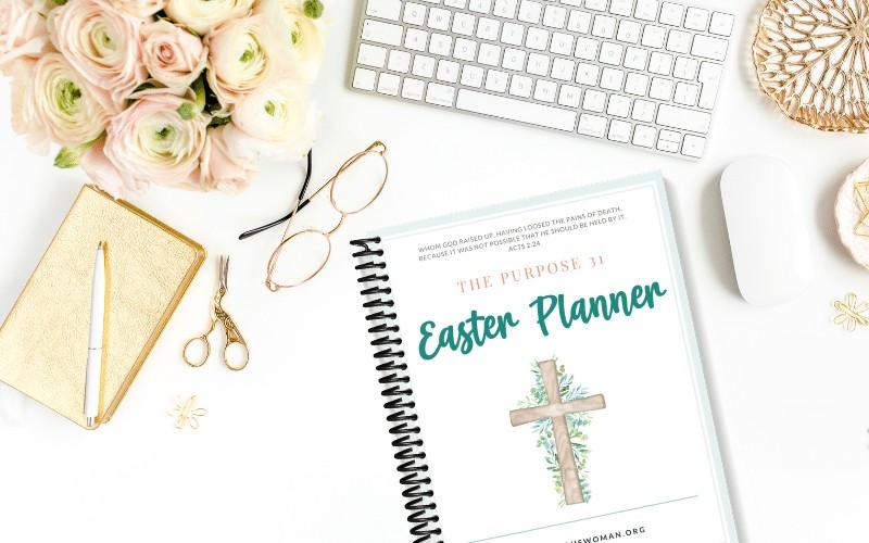 Free Printable Easter Planner | Easter Celebration Headquarters