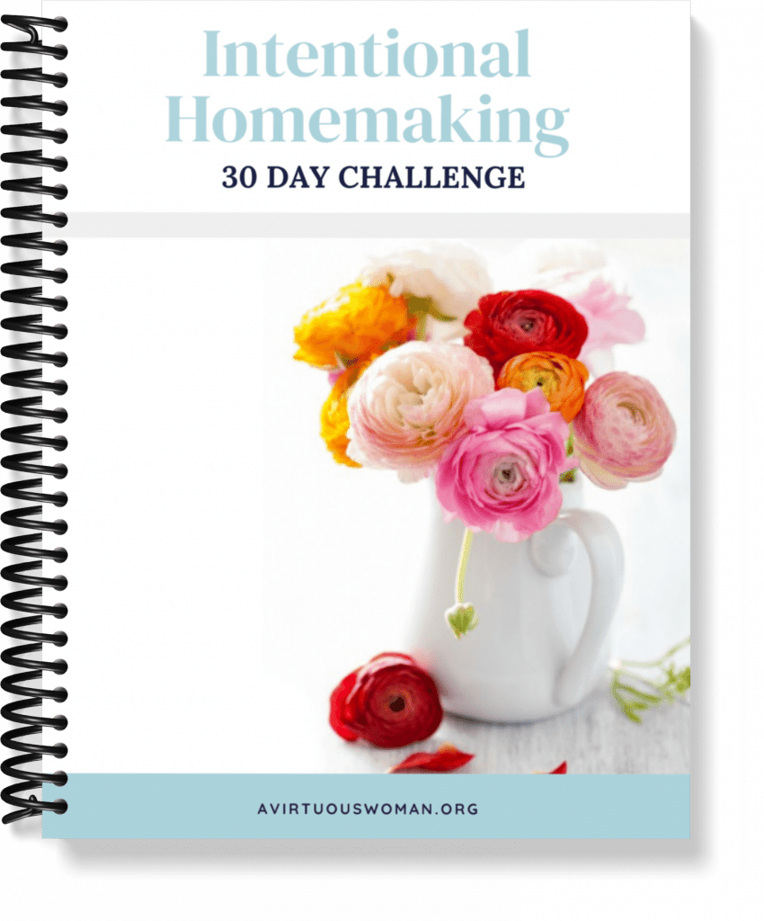 Intentional Homemaking @ AVirtuousWoman.org