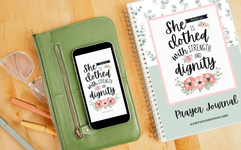 Proverbs 31 Prayer Journal | Free Printable Binder