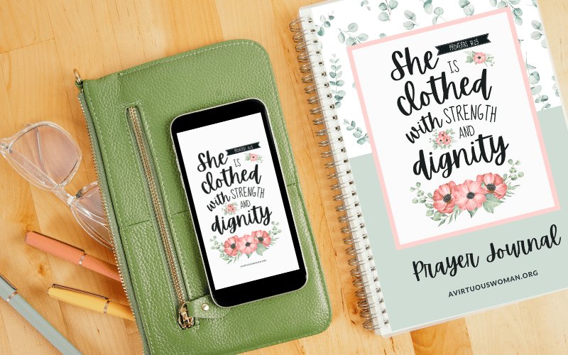 Proverbs 31 Prayer Journal | Free Printable Binder